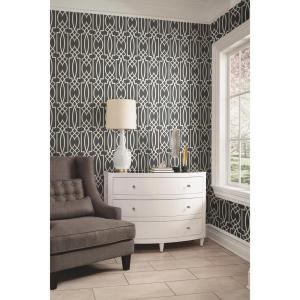 York Wallcoverings Geo Trellis Wallpaper by York Wallcoverings
