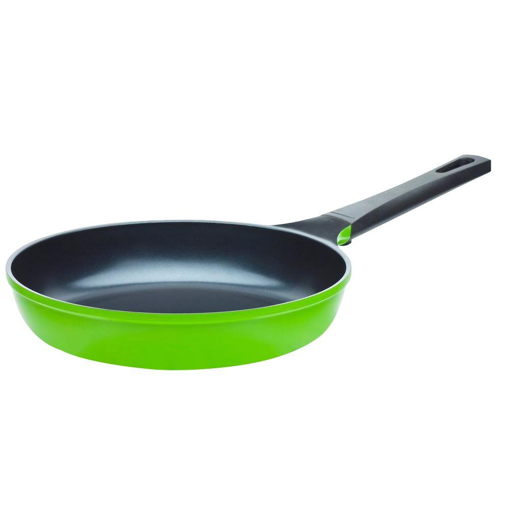 Ozeri 12 in. Green Earth Frying Pan with Smooth Ceramic Non-Stick Coating (100% PTFE and PFOA Free)