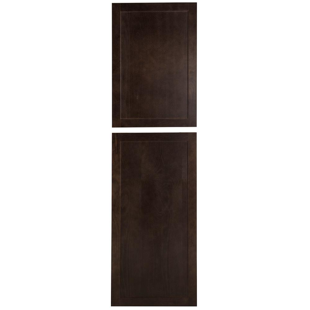 24.38x90x1.13 in. Decorative Pantry End Panel in Dusk