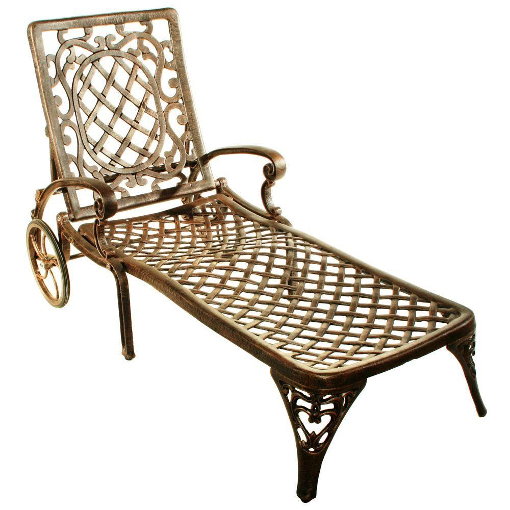 Oakland Living Mississippi Patio Chaise Lounge 2108 Ab