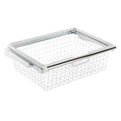 Configurations 24 in. x 7 in. Sliding Wire Basket