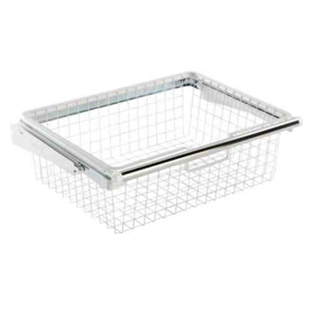 Rubbermaid 235 In X 725 In Sliding Basket Fg3j0503wht The Home