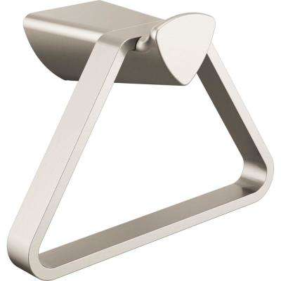 Zura Towel Ring in Stainless Steel