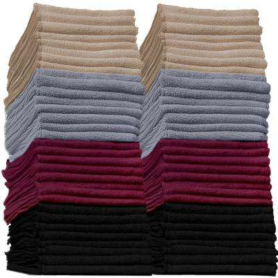 Microfiber Reusable Cleaning Towels (32-Piece)