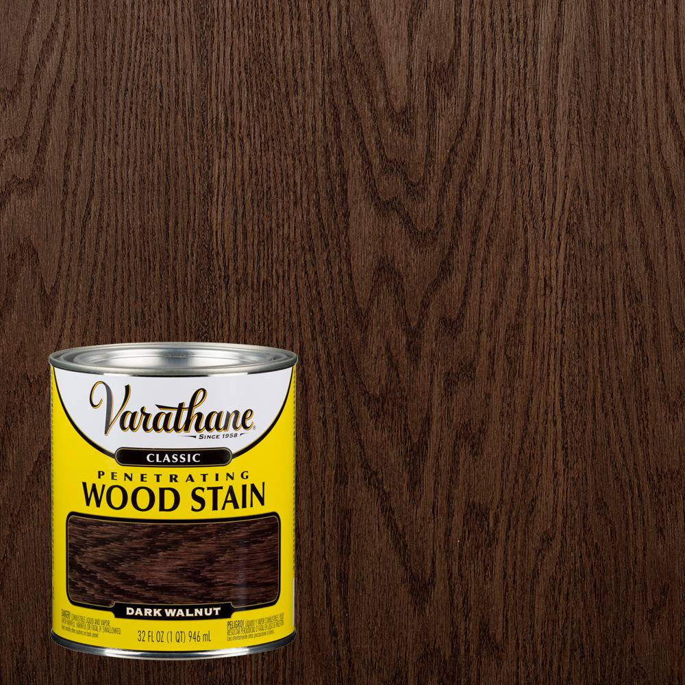 Dark Walnut Clic Wood Interior Stain