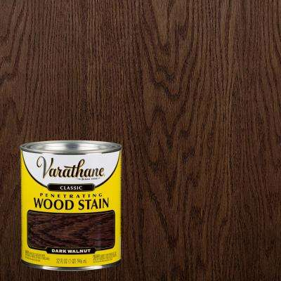 1 qt. Dark Walnut Classic Wood Interior Stain