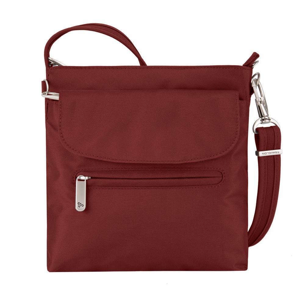 Travelon Wine Anti Theft Mini Shoulder Bag