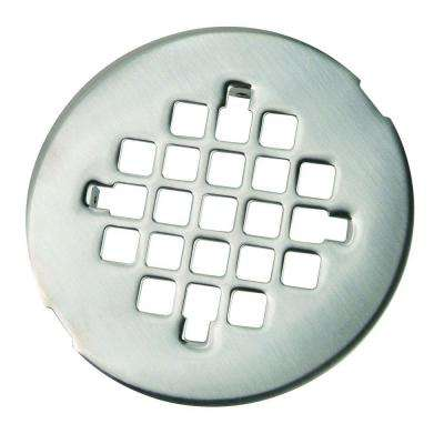 4-1/4 in. O.D. Shower Strainer in Satin Nickel