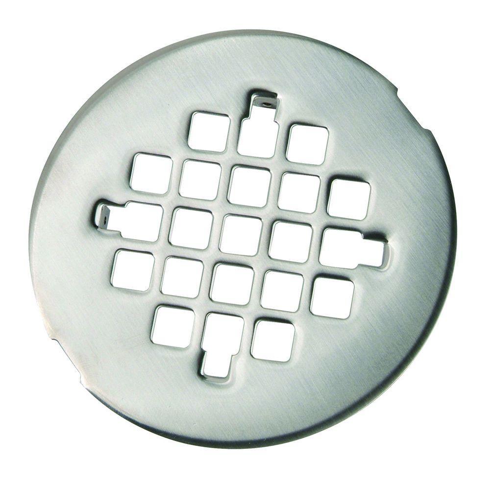 4-1/4 in. O.D. Shower Strainer in Satin Nickel