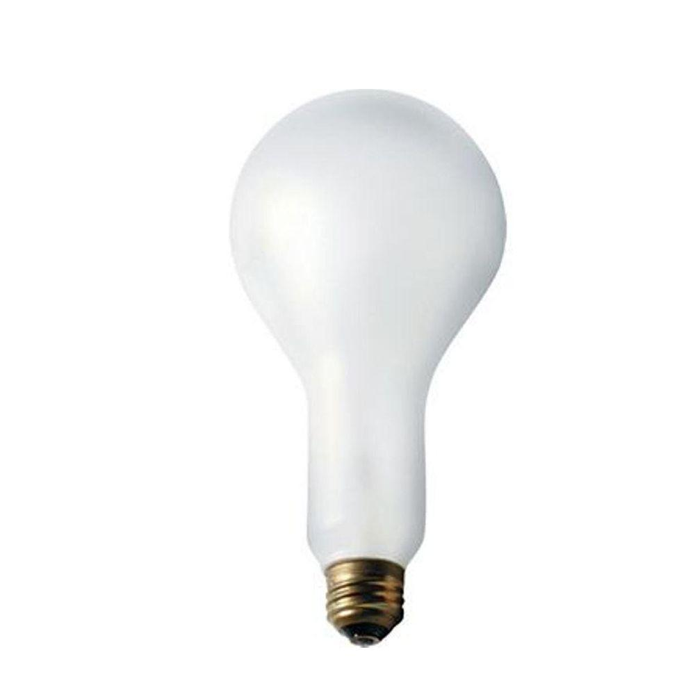 Philips 150-Watt Incandescent A25 Silicone Coated Frosted Light Bulb (60-Pack)