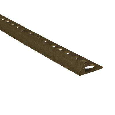 Novocanto Maxi Slate 1/2 in. x 98-1/2 in. Composite Tile Edging Trim
