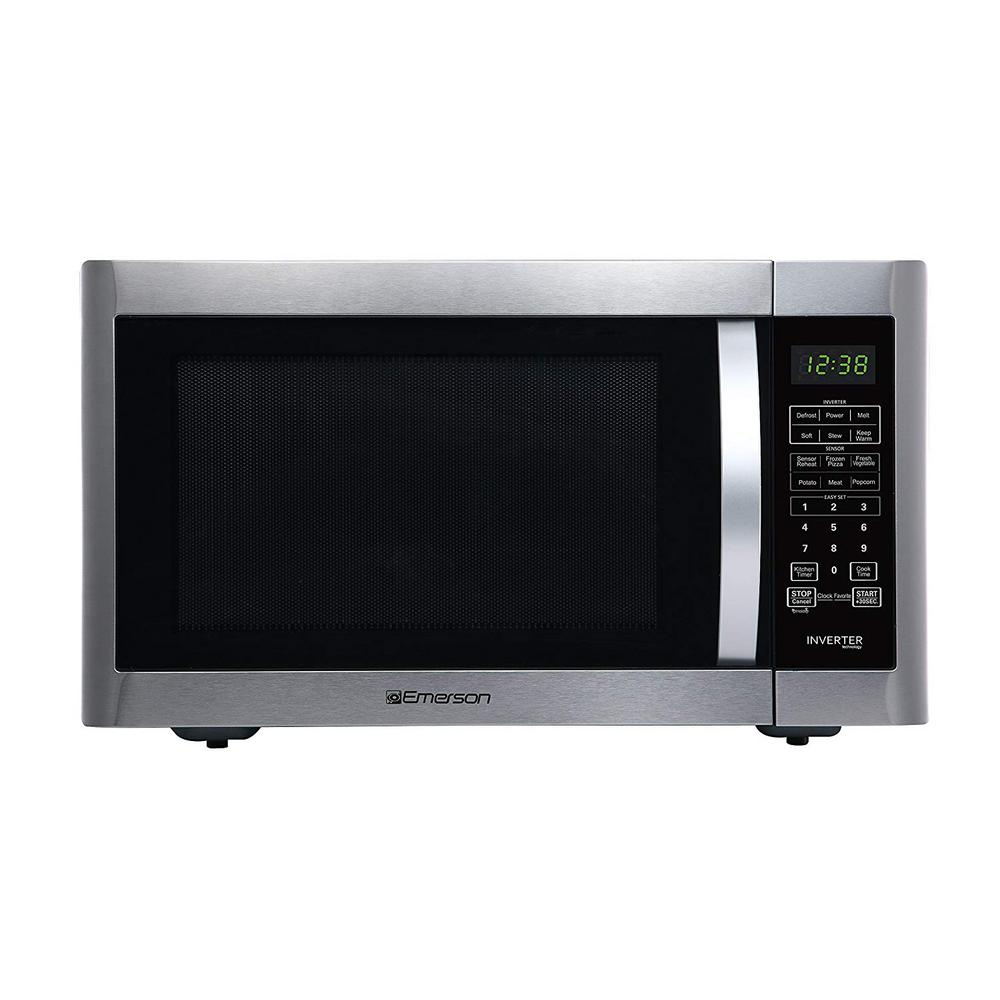 1.6 cu. ft., 1200-Watt Countertop, Inverter, Sensor Cooking Microwave Oven in