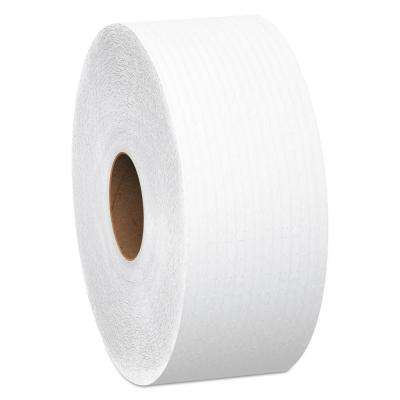 JRT 12 in. Dia x 4000 ft. 1-Ply Jumbo Roll Bathroom Tissue (6/Carton)