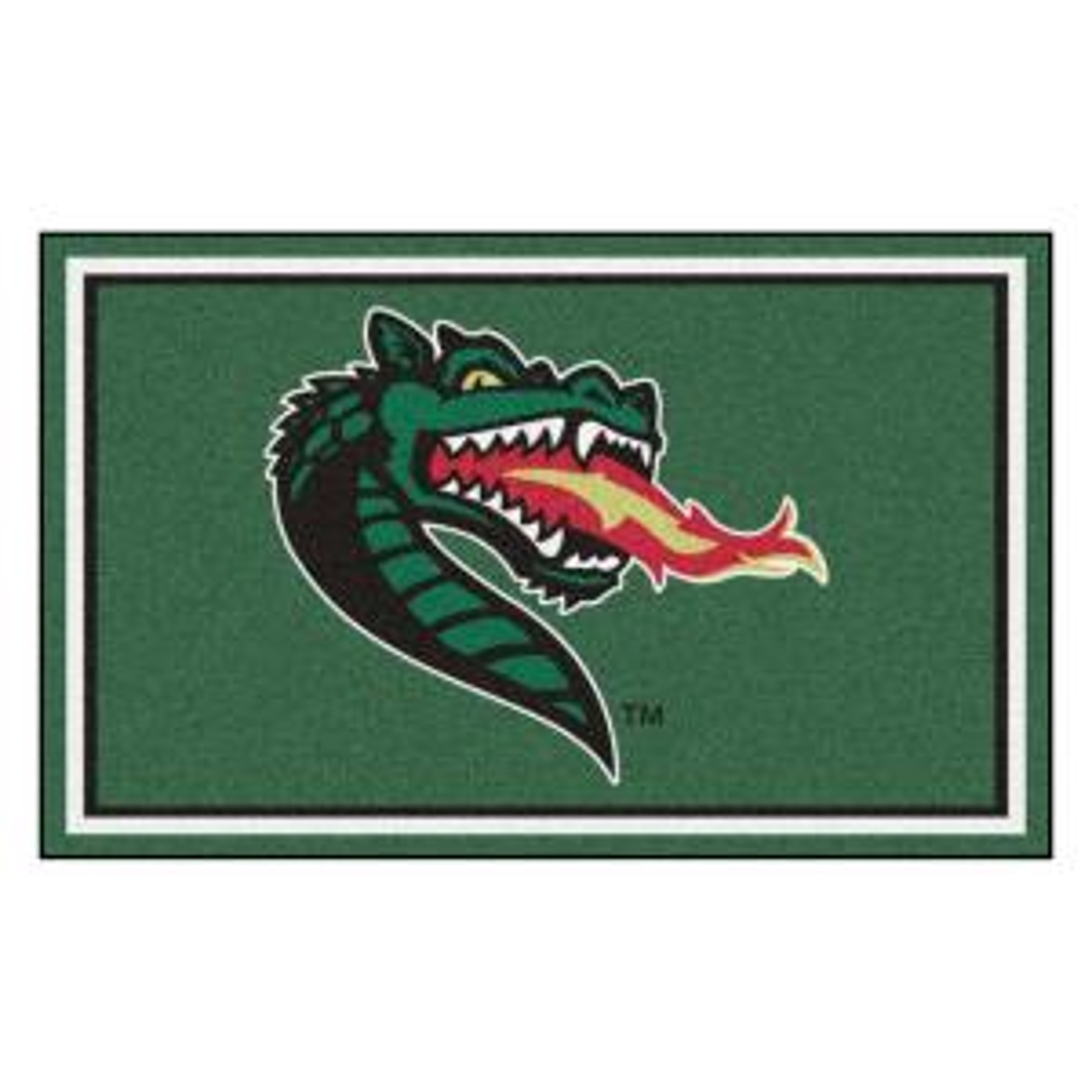 NCAA - University of Alabama at Birmingham Green 6 ft. x 4 ft. Indoor Area Rug