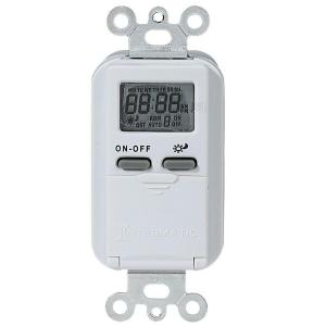 Intermatic 15 Amp Astronomic Digital In-Wall Timer - White by Intermatic