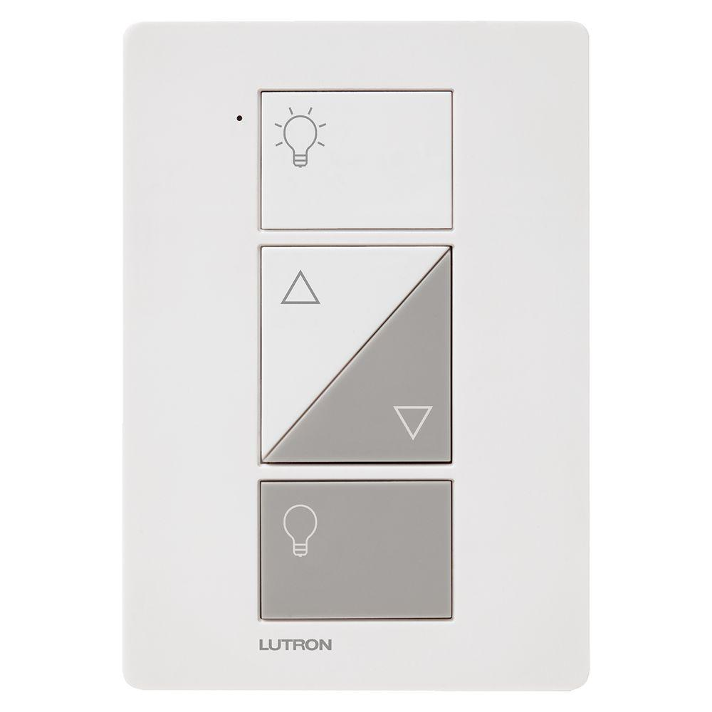 Plug In Dimmers Wiring Devices Light Controls The Home Depot Correct Lamp Switch Caseta Wireless Smart Lighting Dimmer