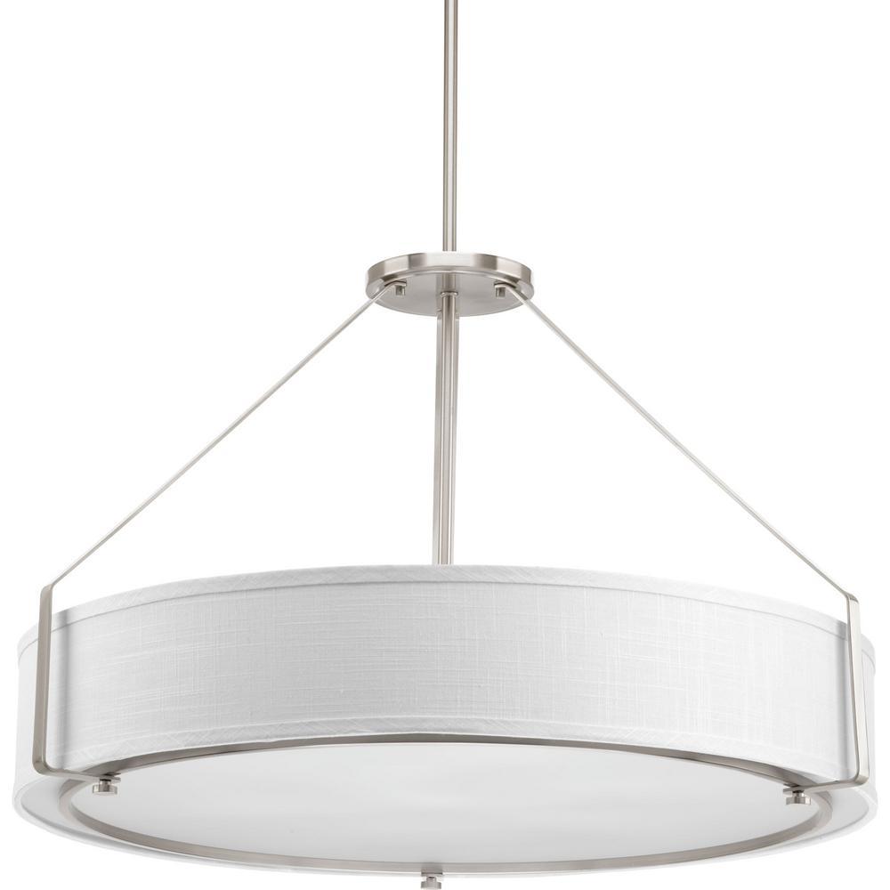 Drum Pendant Lights Hanging Lights The Home Depot