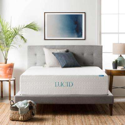 14 in. Queen Triple Layer Memory Foam Mattress