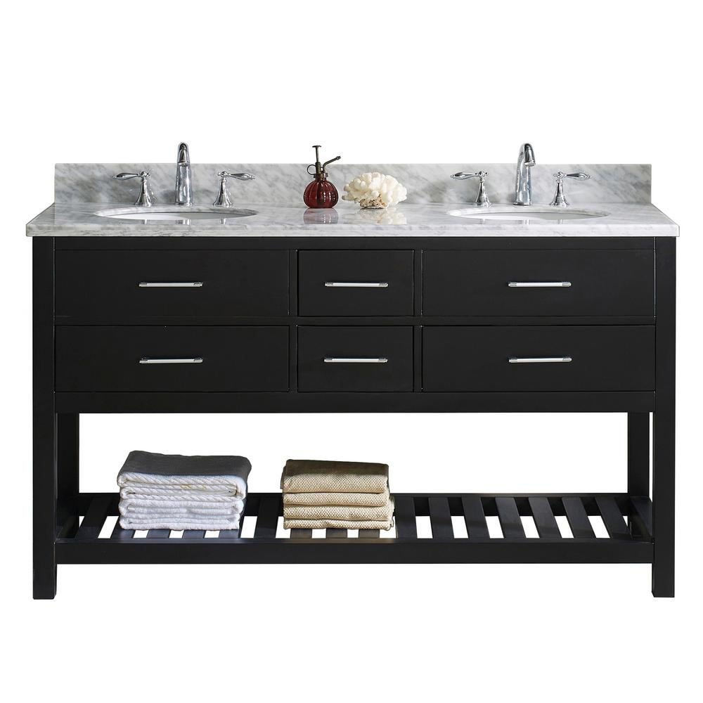 Caroline Estate 60 in. W x 22 in. D Double Vanity