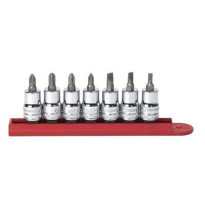 Screwdriver Bit Socket Set (7-Piece)