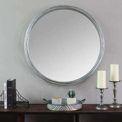 Jocelyn Metal Wall Mirror