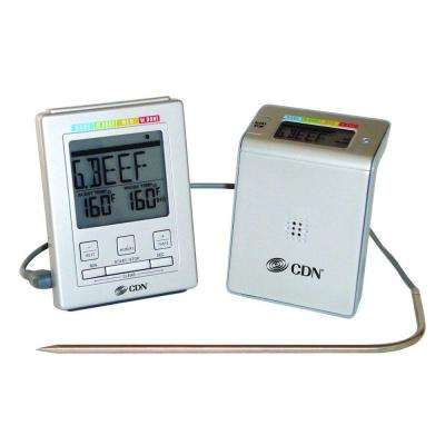 Digital Food Thermometer with Timer