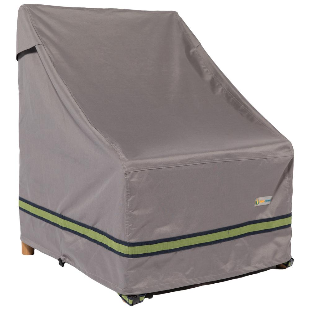 Duck Covers Soteria 40 in. Grey Chair Cover