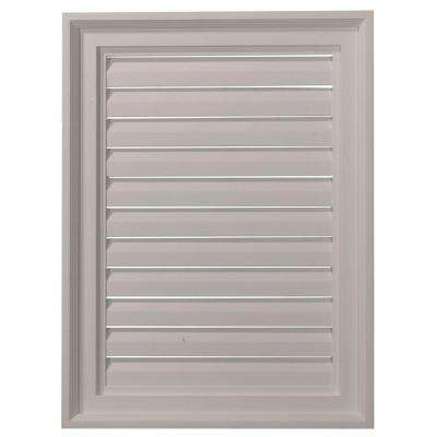 2 in. x 18 in. x 24 in. Functional Vertical Gable Louver Vent