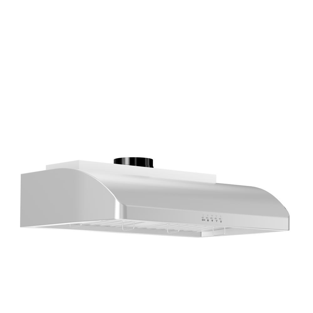 Zline 625-430-36 Professional 900 CFM 36 Inch Wide Under Cabinet Range Hood