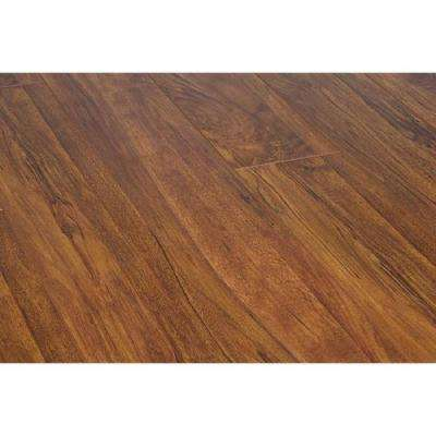 Aged Bronze 15 mm Thick x 5 in. Wide x 48 in. Length Click-Locking Laminate Flooring Planks (16.48 sq. ft. /case)