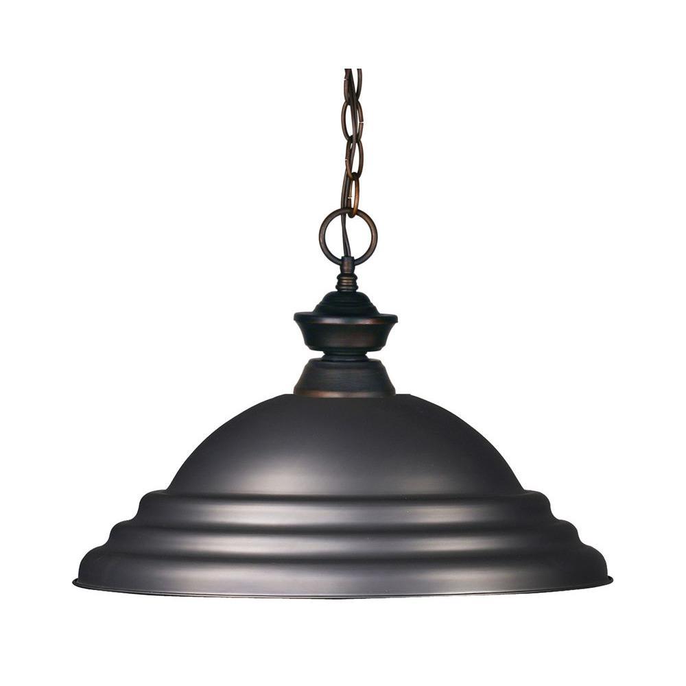 Filament Design Coast 1-Light Olde Bronze Pendant-CLI-JB