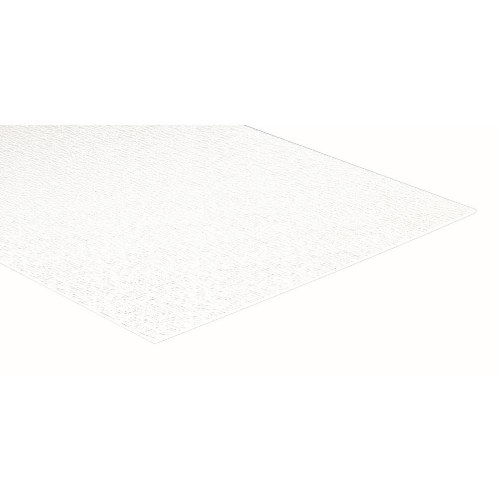 null 48 in. x 96 in. White NRP Wall Covering Panel