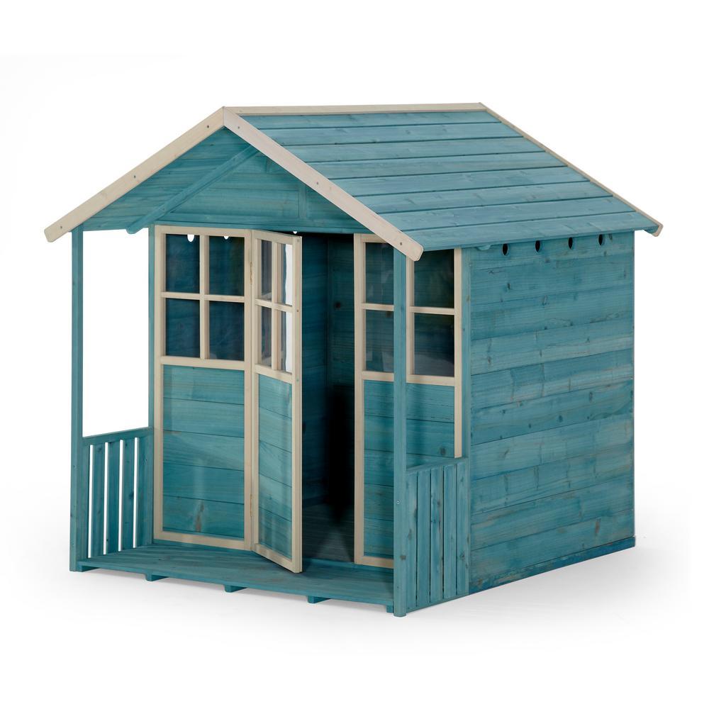 Deckhouse Wooden Playhouse