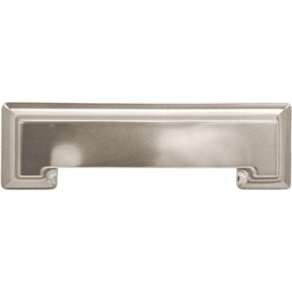 Hickory Hardware Studio Collection 3 In. Stainless Steel Cup Pull