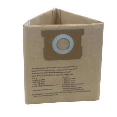 4 Gal. Original Manufacturer Filter Bags for Porter Cable/Stanley Wet/Dry Vacuum (3-Pack)