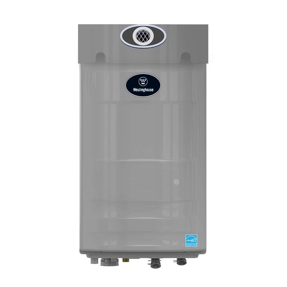 Westinghouse 8.2 GPM High Efficiency Natural Gas Outdoor Tankless Water Heater with Built-in Recirculation and Pump