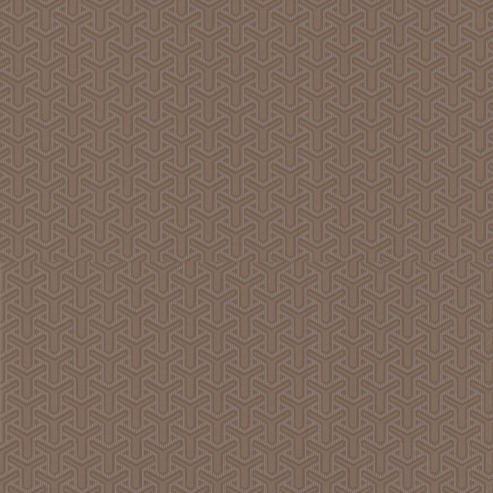 Graham & Brown 56 sq. ft. Turbine Bronze Wallpaper