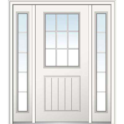 60 in. x 80 in. Internal Grilles Right-Hand 1/2-  sc 1 st  The Home Depot : or doors - pezcame.com