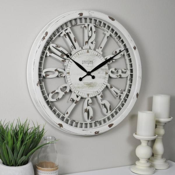 20 in. FirsTime Whitney Wall Clock