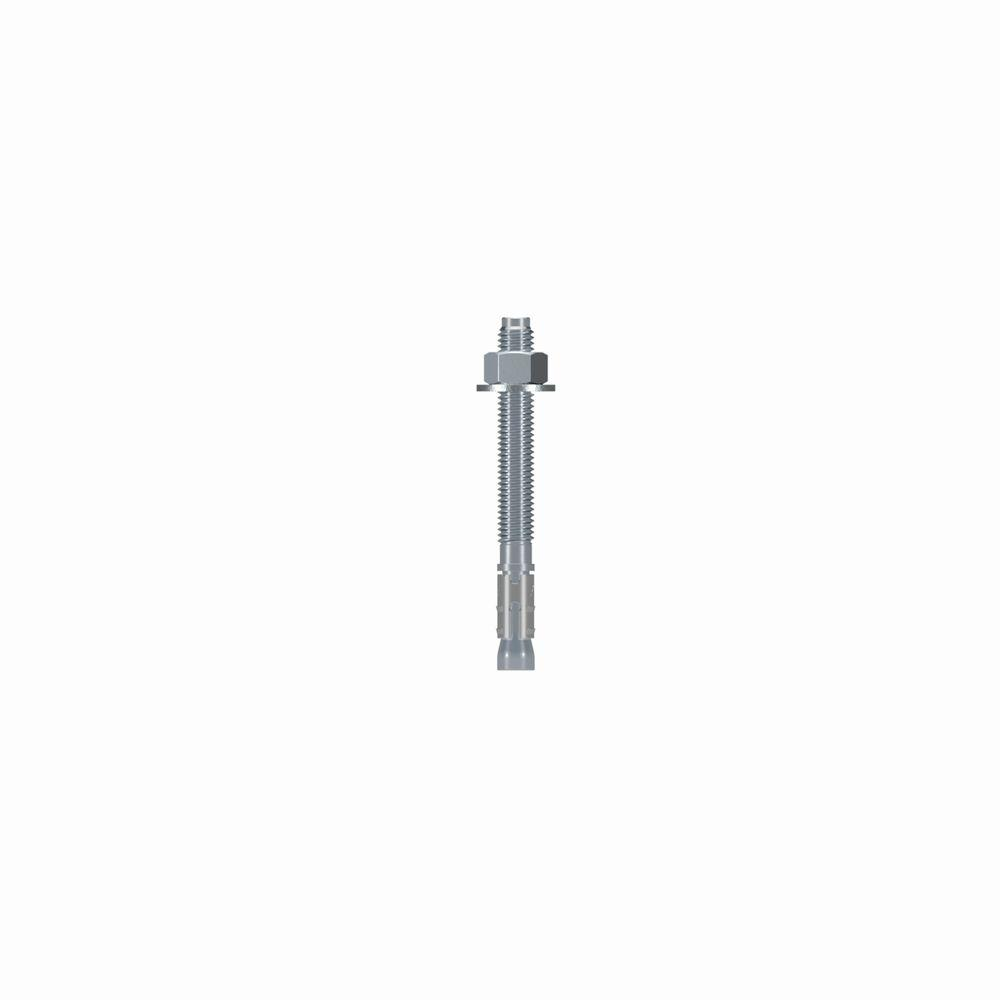 Simpson Strong-Tie Strong-Bolt 1/2 in. x 4-3/4 in. Zinc-Plated Wedge Anchor (25-Pack)