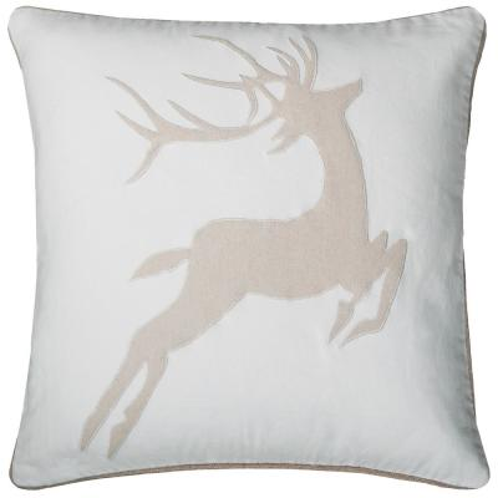 Holiday Dear Polyester Standard Throw Pillow