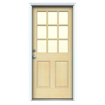 32 X 80 Unfinished Wood Exterior Prehung Exterior Doors