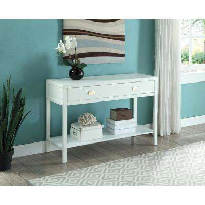 Peggy White Console Table