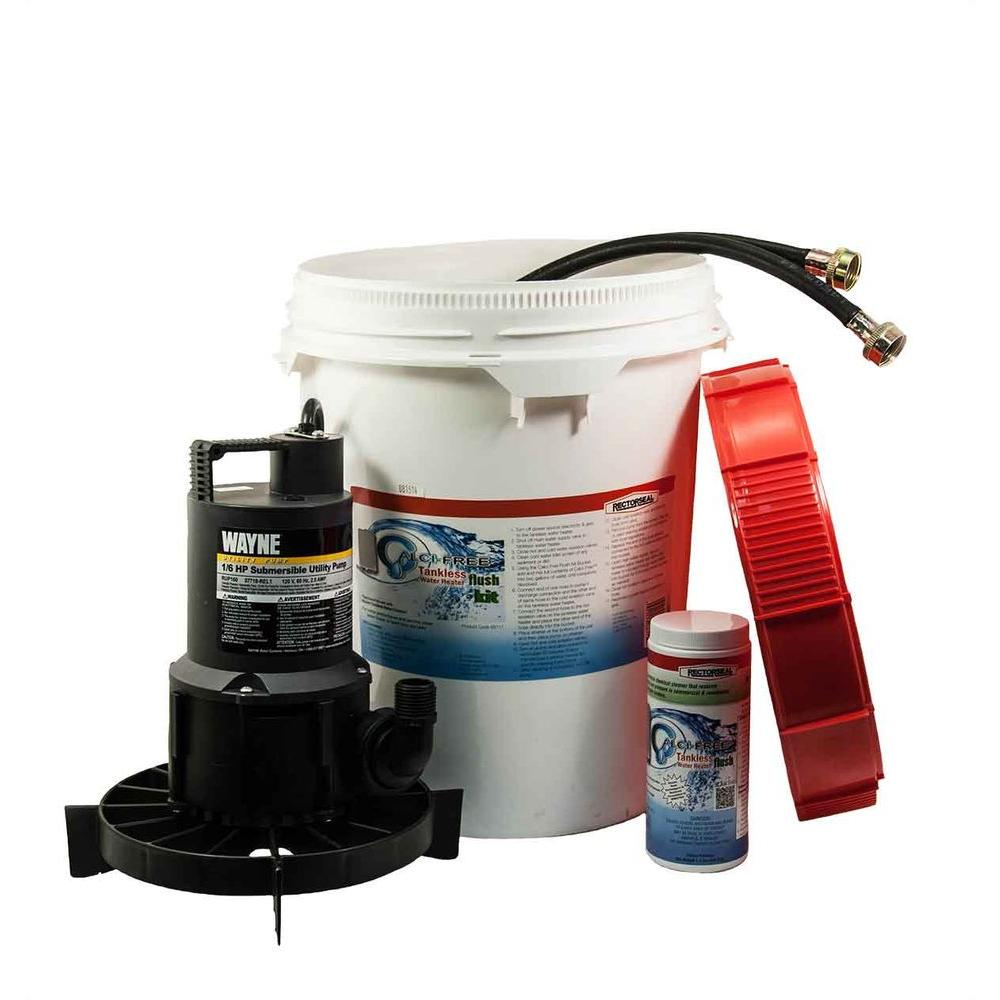 RectorSeal Calci-Free Tankless Water Heater Flush Kit