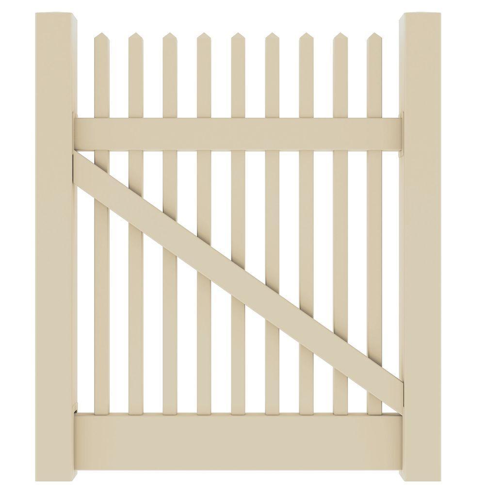 Veranda 4 ft. W x 4 ft. HYukon Straight Sand Walk Gate Kit