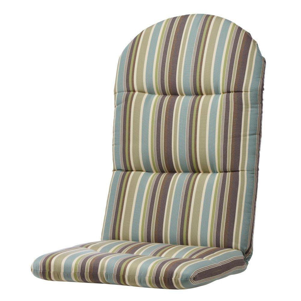 Home Decorators Collection Sunbrella Brannon Whisper Outdoor Adirondack Chair Cushion