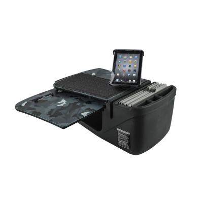 GripMaster Urban Camouflage Car Desk with Built-In Power Inverter and Universal iPad/Tablet Mount