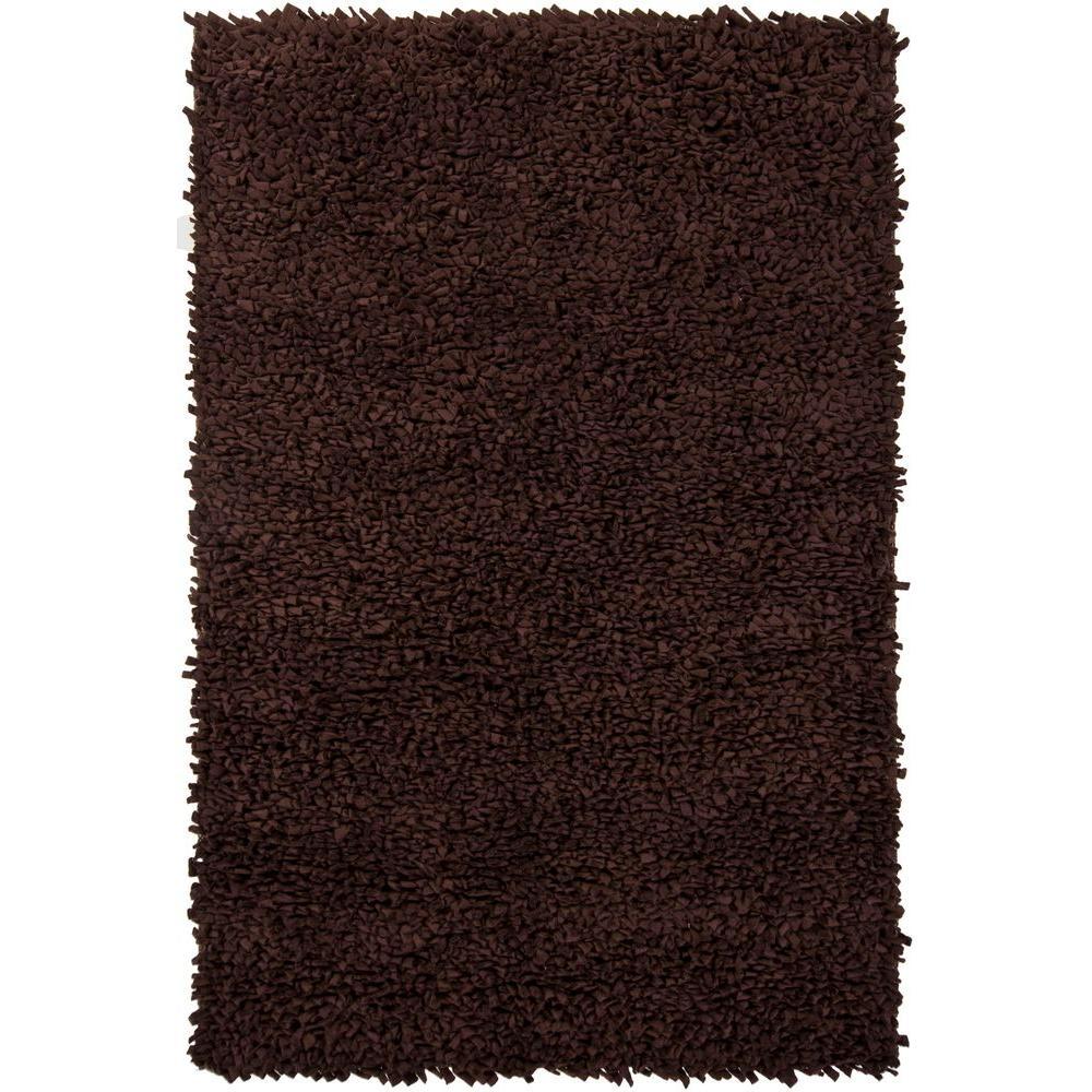 Azzura Dark Brown 7 ft. 9 in. x 10 ft. 6