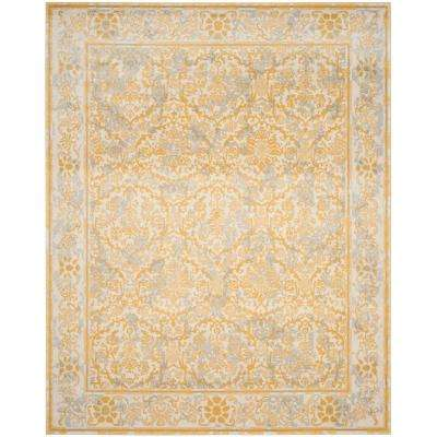 Evoke Ivory Gold 9 Ft X 12 Area Rug