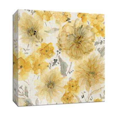 15 in. x 15 in. ''Sunshine and Linen'' By PTM Images Canvas Wall Art